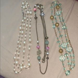 Charming Charlie long necklace bundle